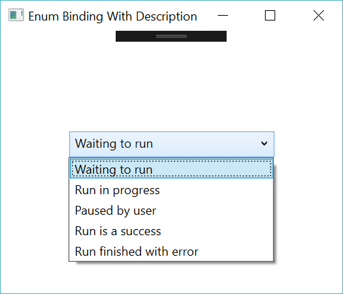 Enum Binding with Description in a ComboBox - WPF MVVM